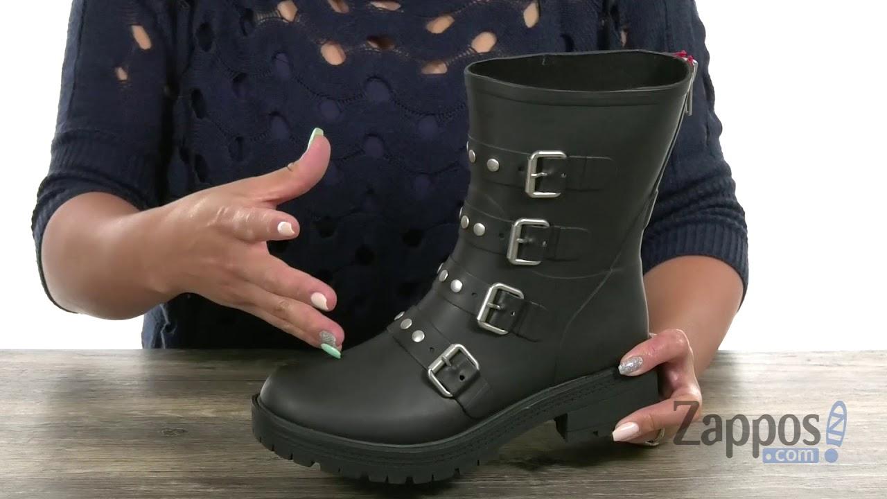 3726792b756 Steve Madden Thunder Rain Boot SKU  9131862 - YouTube