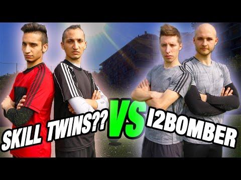 SkillTwins Italiani VS I2BOMBER | Penalty CHALLENGE - Amazing GOAL!!!