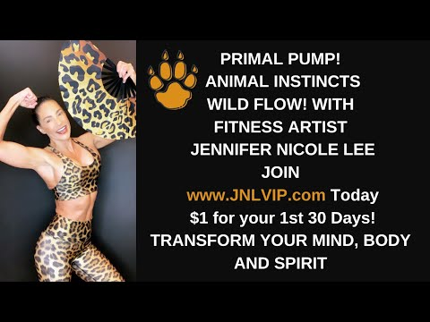 RAW! REAL! UNCENSORED! UNCUT! Fitness Artist Jennifer Nicole Lee BTS to JNLVIP.com Live Coaching!