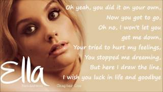 Ella Henderson - Missed (Official Studio Version) Lyrics on Screen [Full Length] New Mp3