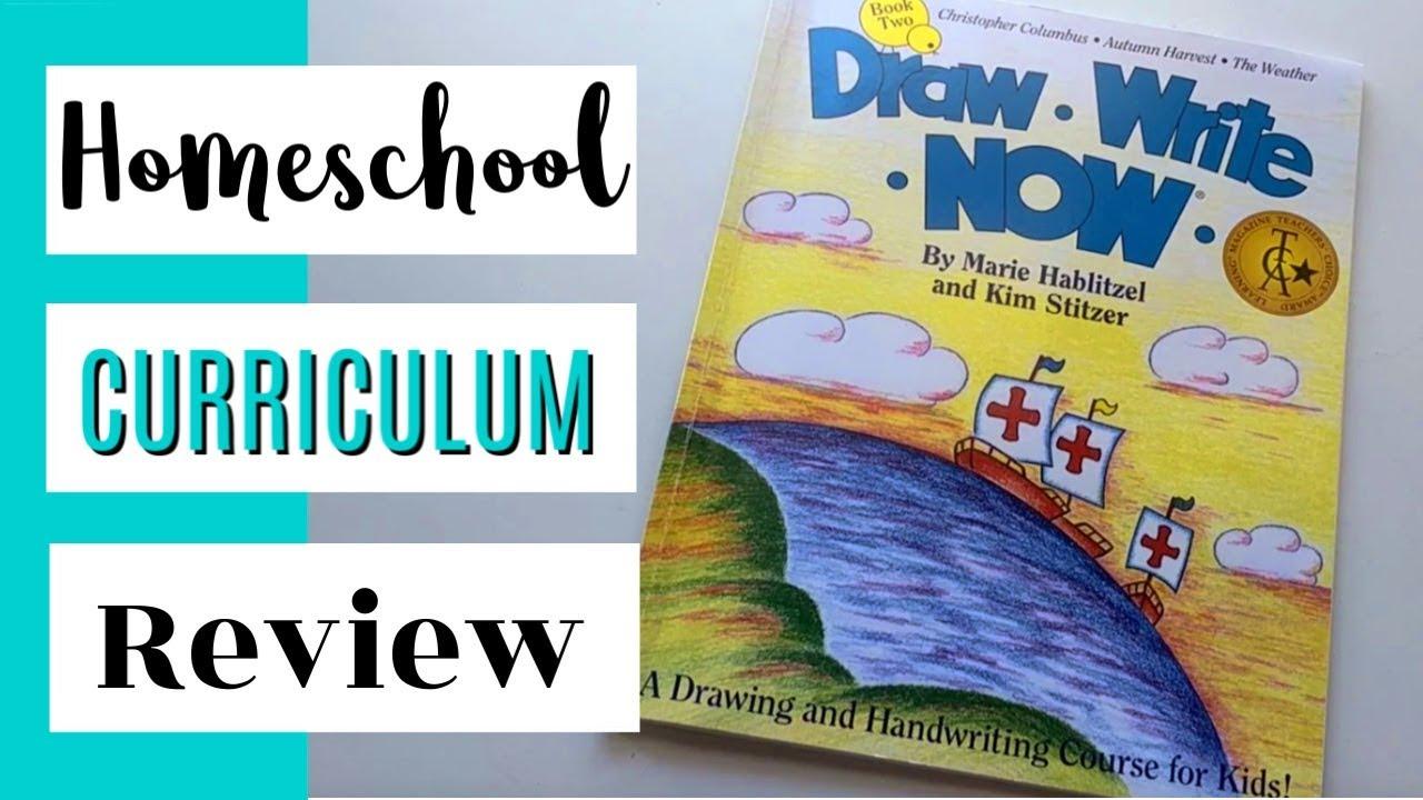 Draw Write Now || Homeschool Curriculum Review