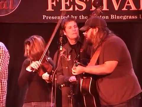 "Chris Stapleton with the Steeldrivers ""Midnight Train To Memphis"" 2/16/08 Joe Val Bluegrass Festival"