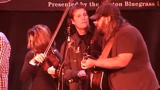 "Chris Stapleton with the Steeldrivers ""Midnight Train To Memphis"" 2/16/08 Joe Val Bluegrass Festival"