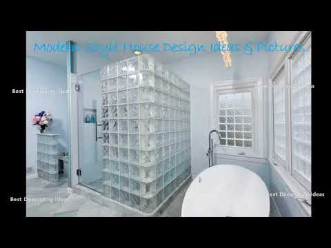 Glass block bathroom designs | Modern House Interior design ideas with inspiration &