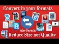 Video Converter Ultimate | Convert in .mp3, .mp4, .avi, .3gp, .3g2, .mov any many more formats