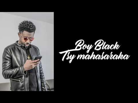 Boy Black   Tsy mahasaraka (Lyrics Video)