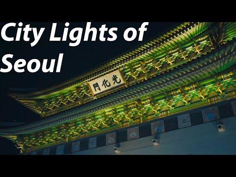 Travel Vlog - City lights of Seoul Korea