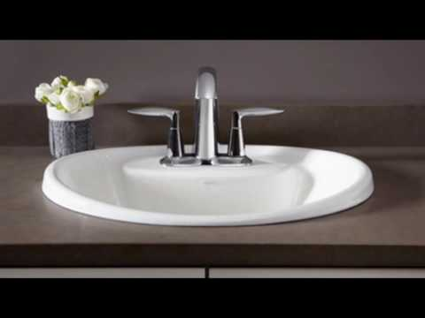 drop in bathroom sinks