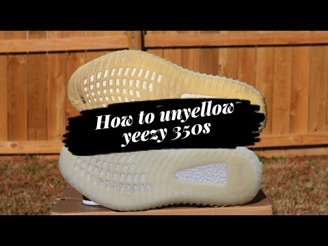 How to FIX Yellowing on YEEZYS