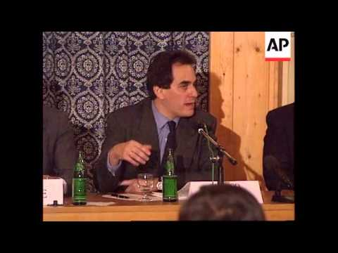 SWITZERLAND: DAVOS: WORLD ECONOMIC FORUM