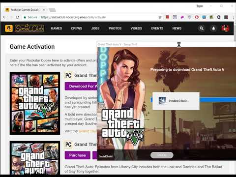 How To Download (GTA V) From Official Rockstar Social Club | Website 2019