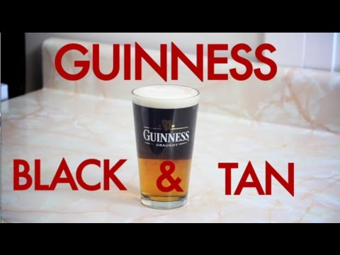 How To Make An All Guinness Black and Tan | Drinks Made Easy