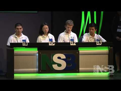 2015 National Science Bowl High School Championship Match