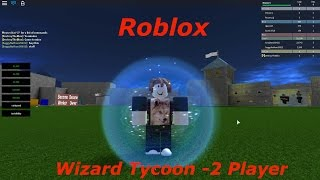 Roblox: Wizard Tycoon -2 Player W/ Facecam