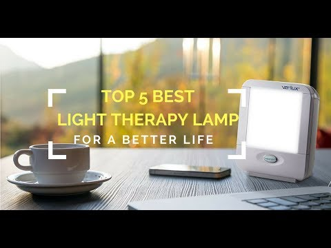 5 Best Light Therapy Lamp for a Better Life 2017 - YouTube