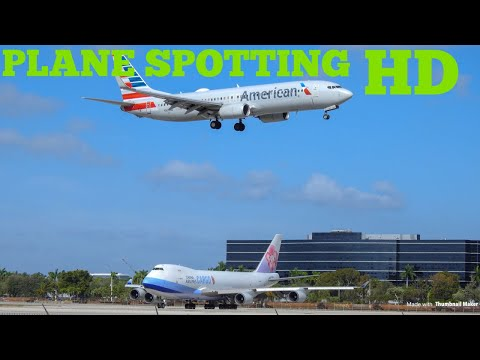PLANE SPOTTER Miami Airport 2019 | with Heavies compilation | HD with ATC audio