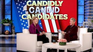 Senator Elizabeth Warren Plays 'Candidly Candid Candidates'