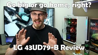 Size does matter... Long Term Review of the LG 43UD79-B 4K