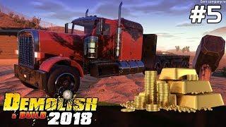 Demolish & Build 2018 GAMEPLAY PL [#5] KUPIŁEM Kopalnię ZŁOTA