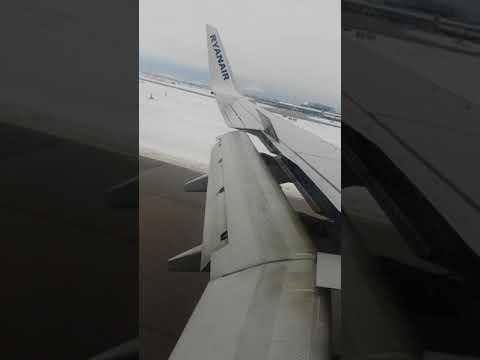 Landing at Sofia Airport