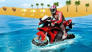 Water Surfer Moto Bike Race (By Grace Games Studio) Android Gameplay HD