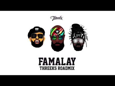 Machel Montano X Skinny Fabulous X Bunji Garlin X Threeks - Famalay (Roadmix) Soca 2019