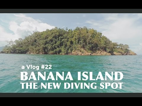 a Vlog #22  Banana island, the new diving Spot At Kolaka