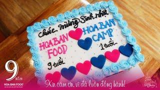 Sinh Nhật HOA BAN FOOD™ | 9 Tuổi | Khuyến Mãi
