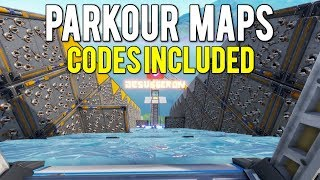 TOP 5 *BEST* CREATIVE PARKOUR OBSTACLE COURSE MAPS IN FORTNITE! (With Codes)
