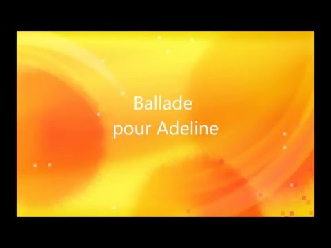 Richard Clayderman (Karaoke)  Ballade pour Adeline