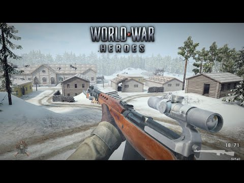 World War Heroes SVT 40 🔥 Gameplay U0026 Review With U0026 Without The Scope