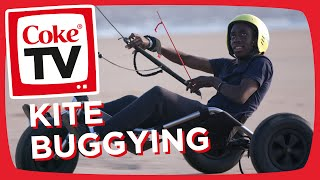 Manny Takes On a Kite Buggying Challenge | #CokeTVMoment