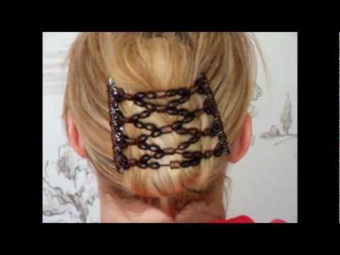 How To Use A Gugu African Butterfly Har Clip For Really Thick Hair