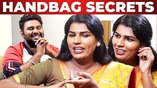 Dharmadurai Jeeva Handbag Secrets Revealed! | What's inside your Handbag | VJ Ashiq