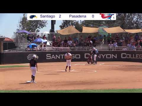 Santiago Canyon vs Pasadena City College 05/05/2018