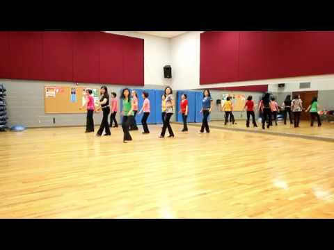 The Rose - Line Dance (Dance & Teach in English & 中文)