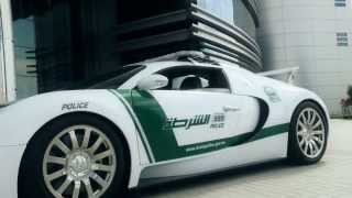 Dubai Police Adds Bugatti Veyron To Their Lineup of Exotic Patrol Cars