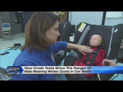 New results show dangers of winter coats in car seats