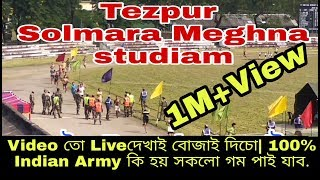 Tezpur Indian Army rally Running,long jamp,pulups,zik zak.