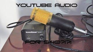 neewer nw 800 microphone innogear phantom power   youtube audio for 40