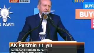 Başbakan Recep Tayyip Erdoğan'ın Olağan Kongre'de okuduğu ağlatan şiir