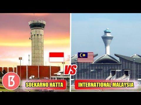 Lebih Megah Yg Mana! Inilah Perbandingan Fasilitas Bandar Udara Indonesia, Malaysia Dan Singapore