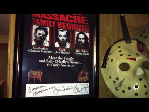 The Texas Chainsaw Massacre 1974 Autographed Pictures
