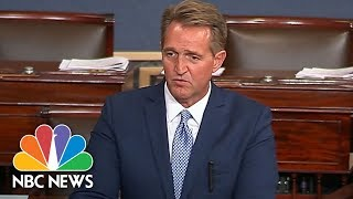 Jeff Flake's Senate Floor Speech On President Donald Trump: 'I Will Not Be Complicit' | NBC News