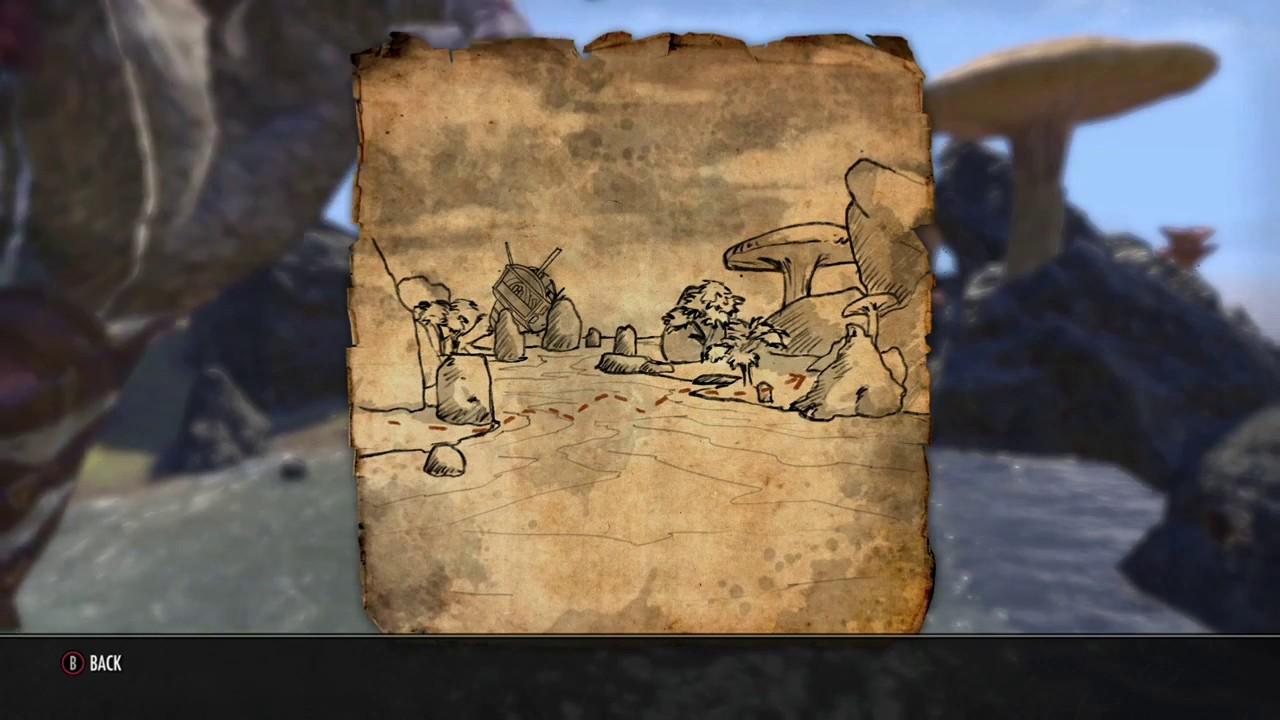 Carte Au Tresor Vvardenfell 1.The Elder Scrolls Online Morrowind Vvardenfell Treasure Map 1 I