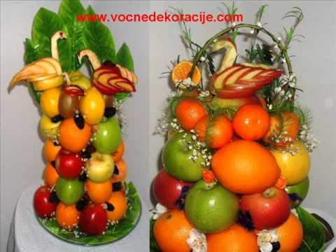 naresci za rođendan Dekoracije od voca, aranzmani, dekoracija za svadbe, vencanja.wmv  naresci za rođendan