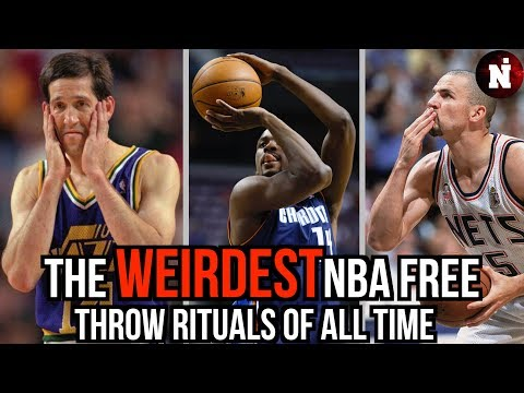 The Weirdest NBA Free Throw Rituals Of All Time (WTF) !