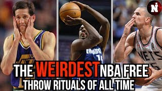 The Weirdest NBA Free Throw Rituals That Will Blow Your Mind!