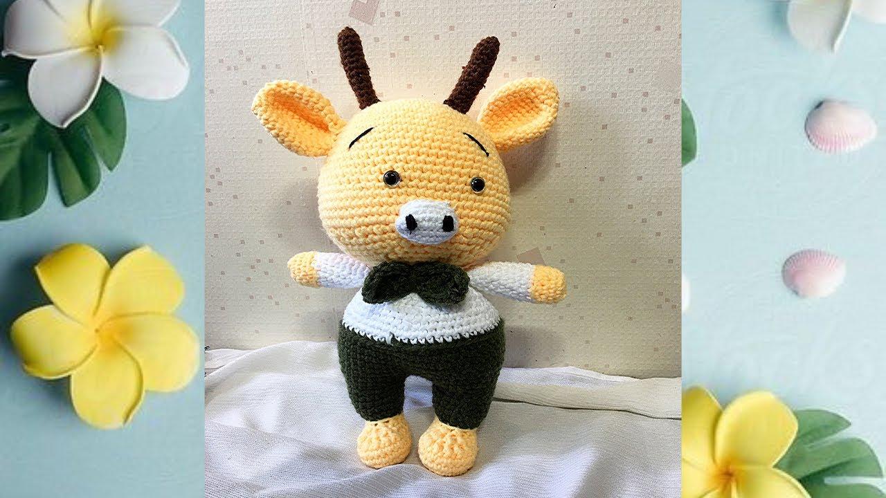 Crochet cow keychain stuffed toys amigurumi cow baby in cow | Etsy | 720x1280