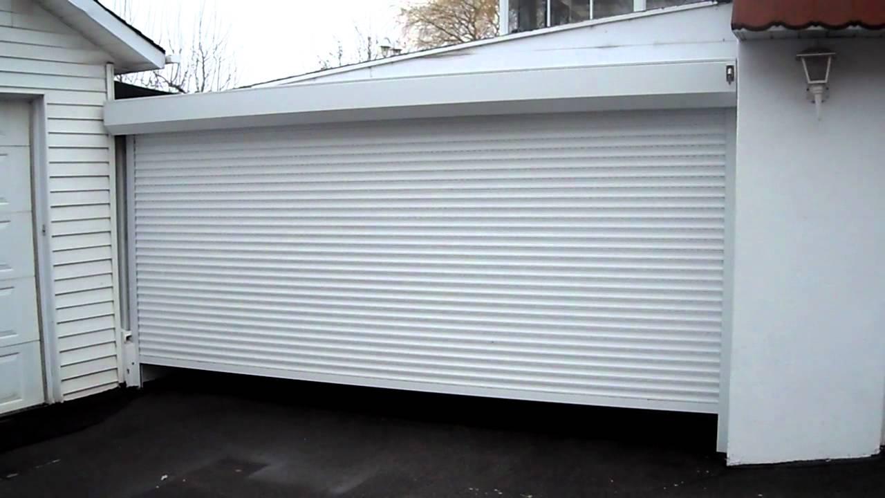 Rolls-système volet roulant garage - YouTube